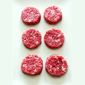 Mini hamburguesas de ternera